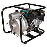 Мотопомпа 6.5л.с. Hmax 29м Qmax 60м³/ч (4-х тактный) для грязной воды LEO (772517), фото 5