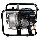 Мотопомпа 6.5л.с. Hmax 29м Qmax 60м³/ч (4-х тактный) для грязной воды LEO (772517), фото 6