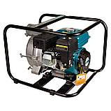 Мотопомпа 6.5л.с. Hmax 29м Qmax 60м³/ч (4-х тактный) для грязной воды LEO (772517), фото 7