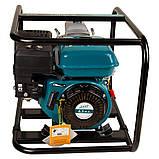 Мотопомпа 6.5л.с. Hmax 29м Qmax 60м³/ч (4-х тактный) для грязной воды LEO (772517), фото 8