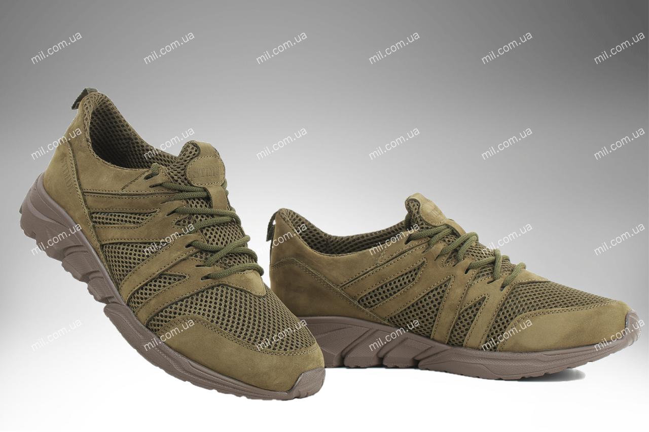 Тактические кроссовки / летняя военная обувь, армейская спецобувь GERMES GTX (олива)