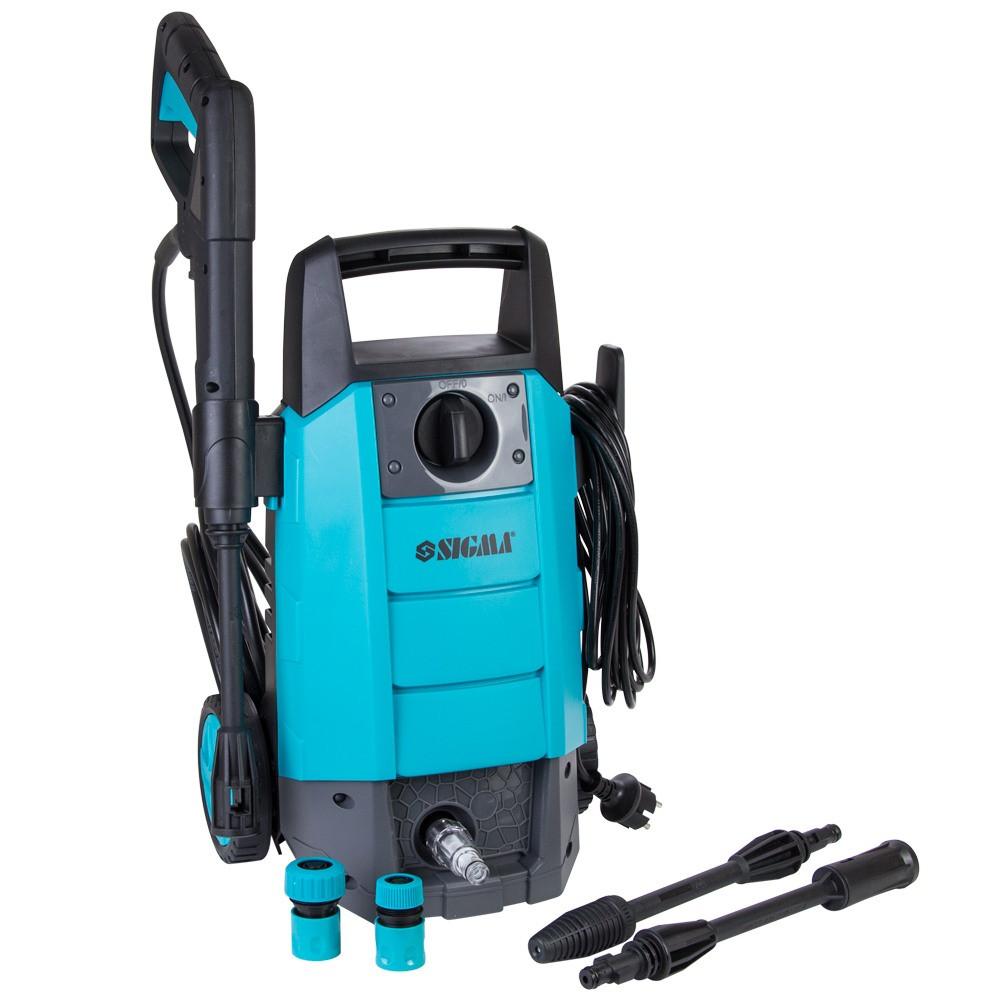 Мийка високого тиску 1500Вт max 110bar 6 л/хв+турбонасадка SIGMA (5342051)