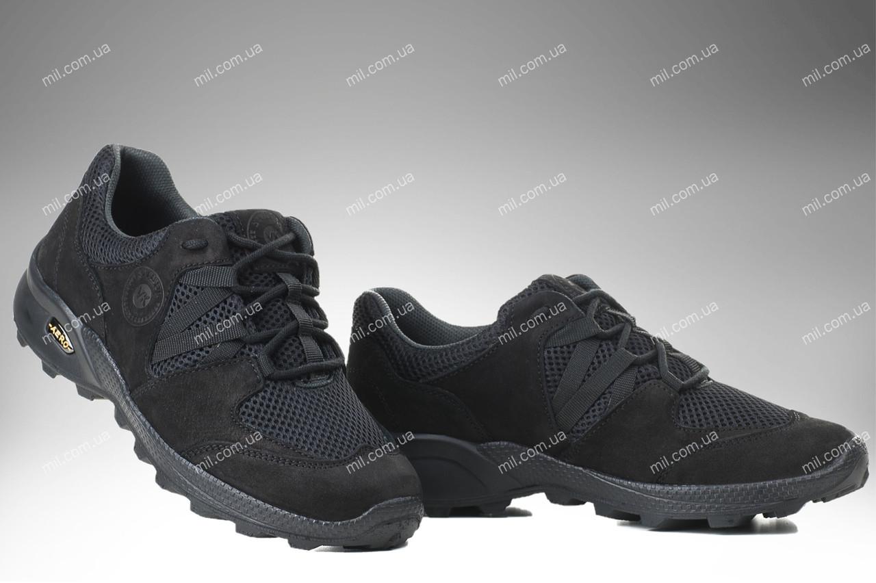 Тактические кроссовки на лето / треккинговая военная обувь / армейская спецобувь PEGASUS (black)