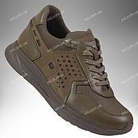 Тактические летние кроссовки / армейская военная обувь RANGER Force (olive)
