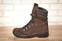 Ботинки высокие тактические STIMUL Гопак зима/деми нубук шоколад, фото 1
