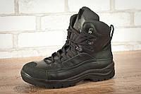 Ботинки тактические STIMUL Атаман зима/деми кожа хром черный, фото 1