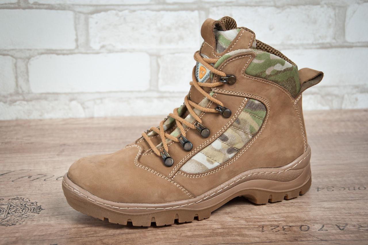 Ботинки тактические STIMUL Патриот-2 деми нубук койот/мультикам