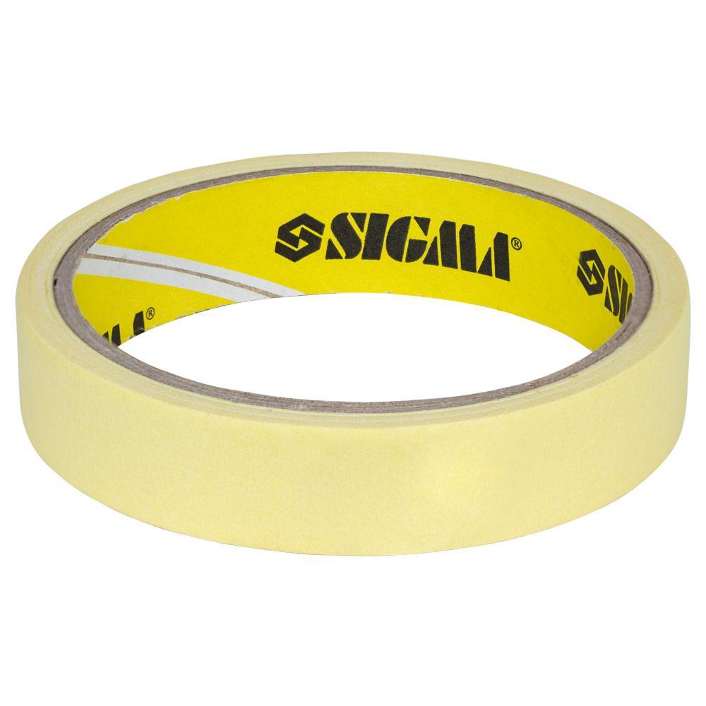 Скотч малярный 19мм×40м SIGMA (8402021)