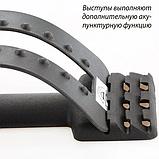 Тренажер Мостик 3-х уровневый массажер для спины и позвоночника Back Magic Support, фото 7