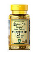 Vitamin D3 125 мкг 5000 IU (100 капсул)