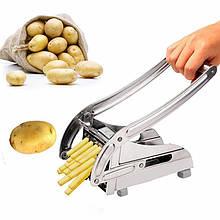 Картофелерезка (овощерезка) механическая, Potato Chipper H12-7 машинка для нарезки картошки фри