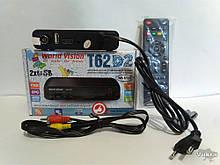 Приставка Т2, тюнер, ресивер, World Vision T62D2 IPTV сервисMegogo Чернигов