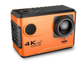 Action Camera F100B Tach WiFi 4K аккумулятор 1050 mAh с Bluetooth
