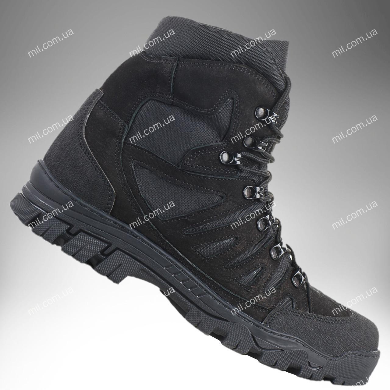 ⭐⭐Ботинки тактические демисезонные / военная, армейские обувь КАСКАД (black)   военная обувь, военные ботинки,