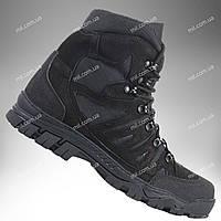 ⭐⭐Ботинки тактические демисезонные / военная, армейские обувь КАСКАД (black)   военная обувь, военные ботинки,, фото 1