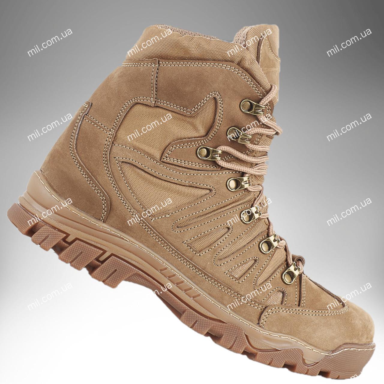 ⭐⭐Ботинки тактические демисезонные / военная, армейские обувь КАСКАД (coyote) | военная обувь, военные