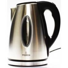 Электрочайник металлический Crownberg, надежный электрический чайник из нержавейки, техника для кухни 1,7L