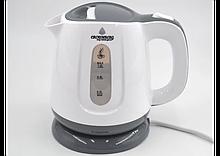 Электрочайник пластиковый Crownberg, надежный электрический чайник, техника для кухни 1 L
