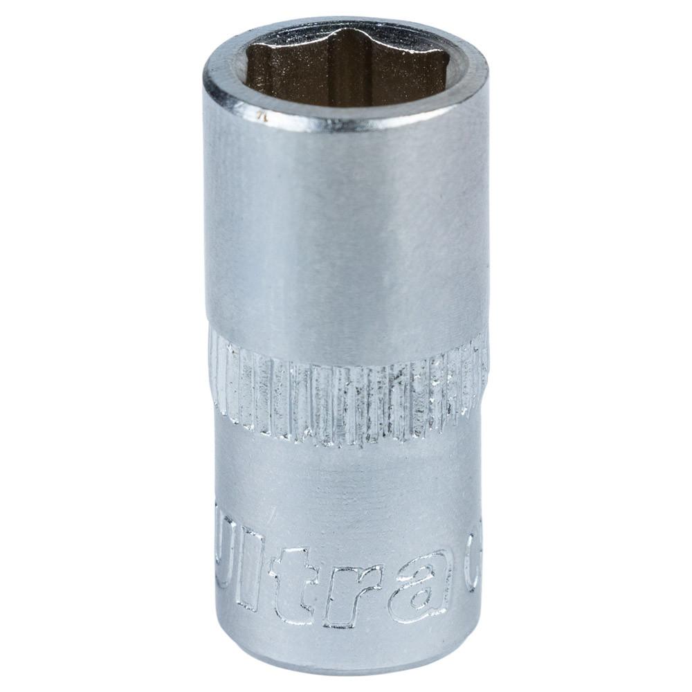 """Насадка шестигранная короткая 1/4"""" 8мм CrV ULTRA (6060082)"""
