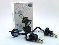 Универсальный комплект светодиодных автомобильных ламп Led Xenon G5 H4