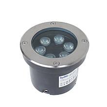 Грунтовый светильник LG-23/6W CW IP67 LED