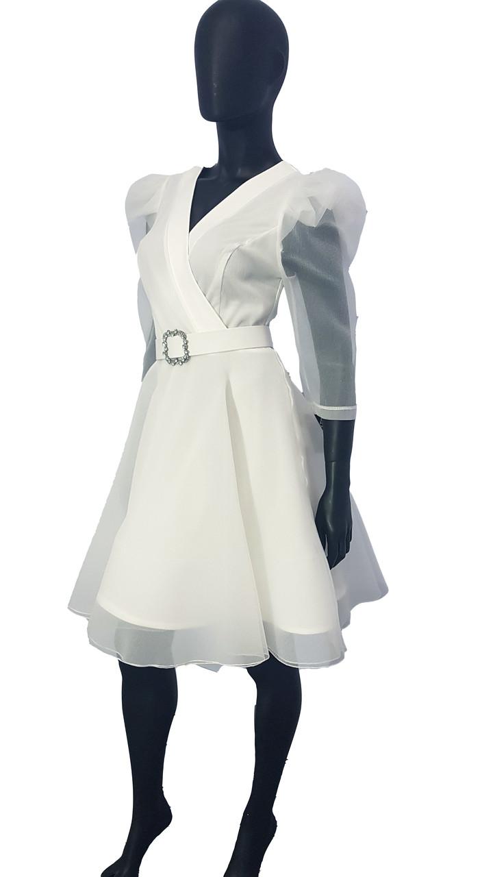 Сукня  біла 74329