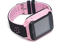 Детские Умные часы с GPS Smart Baby Watch Q529 / смарт часы для детей, Розовые
