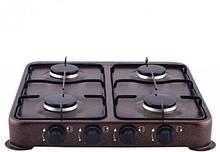 Газовая плита таганок DOMOTEC MS-6604 - 4 конфорки
