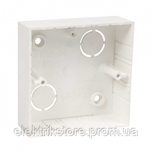Коробка приладова ПВХ 82х82х28мм