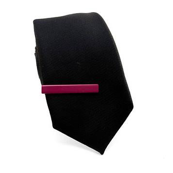 Затискач для краватки малиновий ZAG-9013