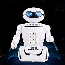 Игрушка детская Robot PIGGY BANK | Детская копилка сейф с кодовым замком