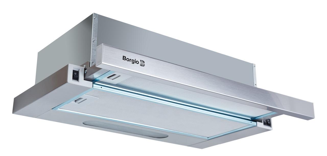 Вытяжка кухонная Borgio Slim 60 inox