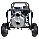 Мотопомпа 7.5л.с. Hmax 26м Qmax 60м³/ч (4-х тактный) для грязной воды WETRON (772557), фото 8