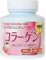 Жевательные таблетки Orihiro Коллаген с витамином В2 и В6, 180шт