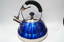 Чайник газовый со свистком с нержавеющей стали для газовой плиты и индукционной Giakoma G-3301 3,5 л