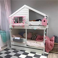 Ліжка дитячі будиночки