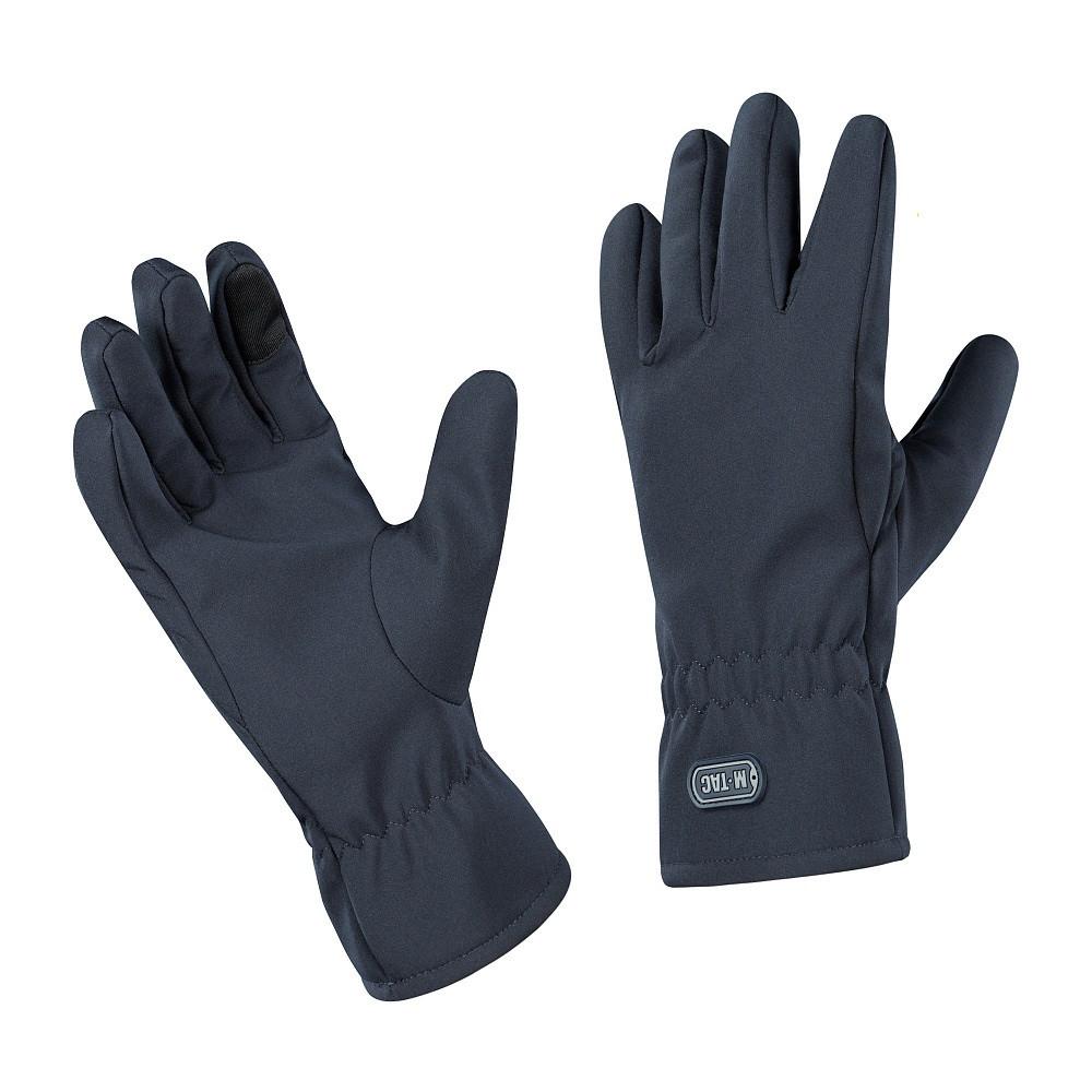 M-Tac рукавички Winter Soft Shell Dark Navy Blue зимові