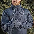 M-Tac рукавички Winter Soft Shell Dark Navy Blue зимові, фото 7