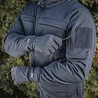 M-Tac рукавички Winter Soft Shell Dark Navy Blue зимові, фото 8
