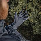 M-Tac рукавички Winter Soft Shell Dark Navy Blue зимові, фото 9