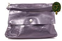 (Beata) Итальянская кожаная сумка бакэтбэг BIW0-001 черный