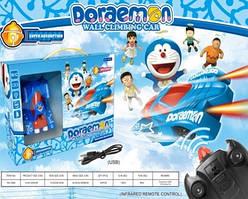 Антигравитационнаяигрушечная машинка Doraemon 3499 на радиоуправлении Синяя