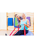Лента-эспандер для спорта и реабилитации 4FIZJO Flat Band 200 х 15 cм 25-35 кг 4FJ0100, фото 4