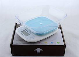 🔥 Весы кухонные Domotec ACS SH-125 до 7 кг с чашей