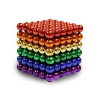 Головоломка Нео куб Neo Cube 5 мм Магнитный ЦветнойКвадрат Тетракуб 216 шт