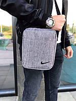 Барсетка Nike Мужская сумка через плечо Мессенджер Женская