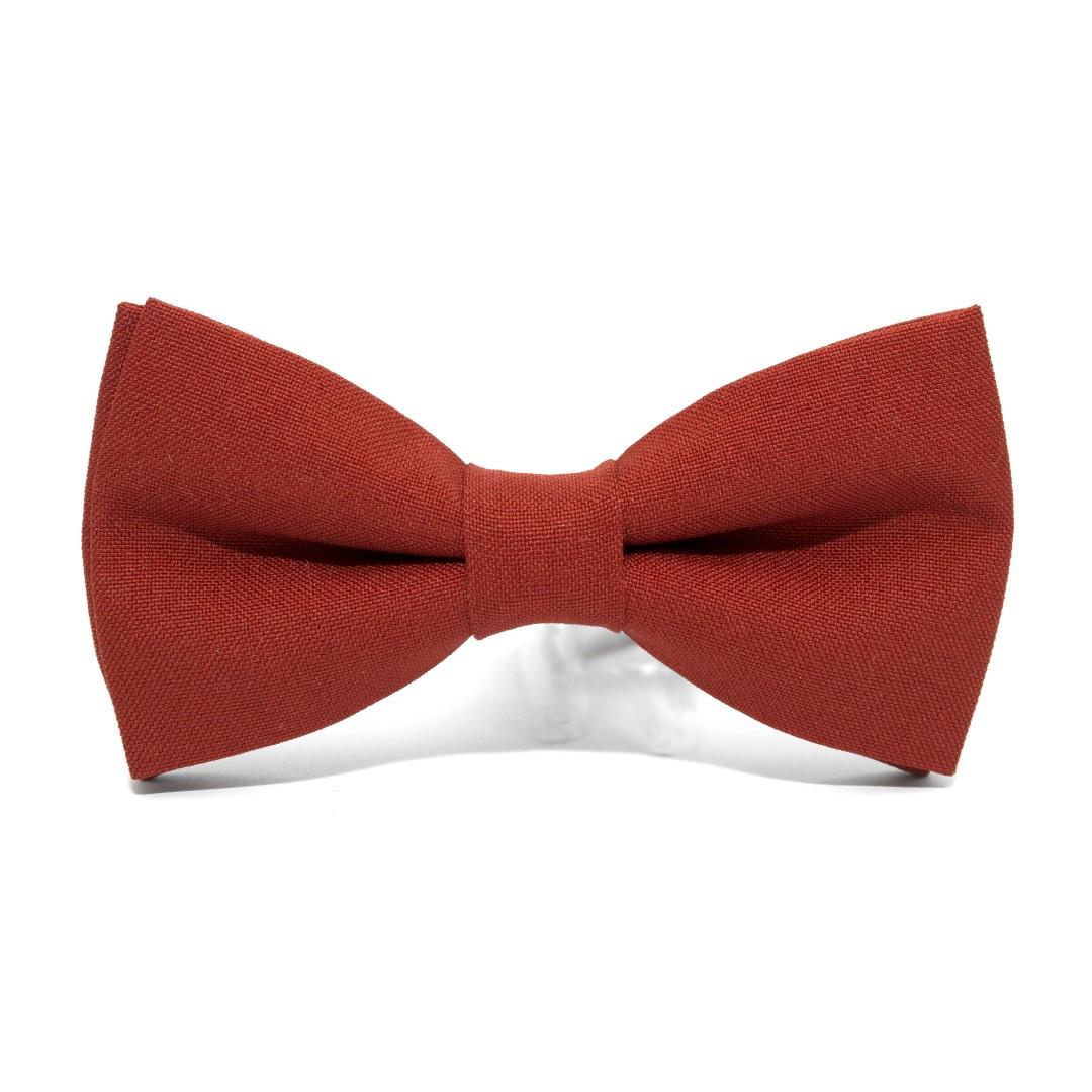 Краватка метелик Gofin теракотовий AB-7206