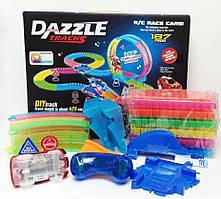Гибкий гоночный трек Dazzle Tracks 326 деталей с пультом управления