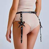 Кожаные повязки - пояс для чулок, фото 5