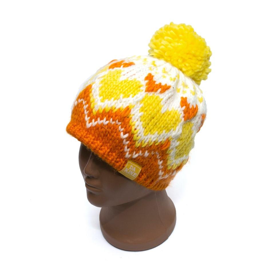 Дитяча шапка Dakine з сердечками 8680152